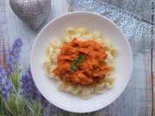 Dyniowy sos do makaronu