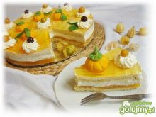 Dyniowy tort