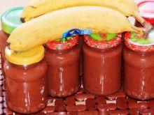 Dżem bananowo-śliwkowy z wanilią