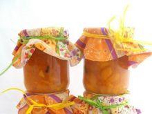 Dżem brzoskwiniowo- pomarańczowy