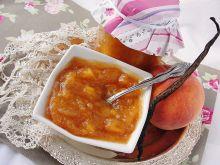 Dżem brzoskwiniowy z wanilią