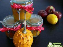 Dżem dyniowo-jabłkowy z cytryną