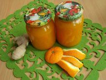 Dżem dyniowo-pomarańczowy z imbirem