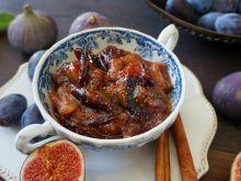 Dżem figowo-śliwkowy z cynamonem