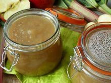 Dżem jabłkowo-rabarbarowy z mango