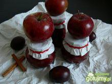 Dżem jabłkowo- śliwkowy z cynamonem