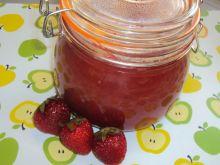 Dżem rabarbarowo truskawkowy