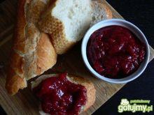 Dżem truskawkowo- rabarbarowy