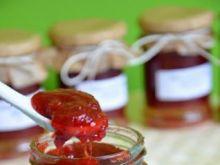 Dżem truskawkowo-rabarbarowy 2