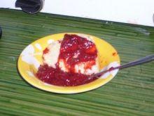 Dżem truskawkowy z miodem i rodzynkami