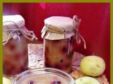 Dżem w jagodowe kropki