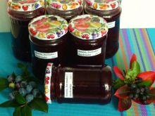 Dżem z aronii, borówek i truskawek
