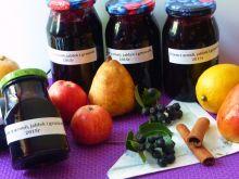 Dżem z aronii, jabłek i gruszek