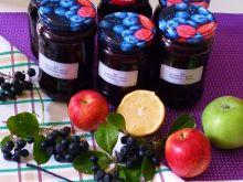 Dżem z aronii, truskawek i jabłek