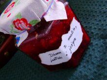 Dżemik malinowo-jabłkowy z nutka jeżyny