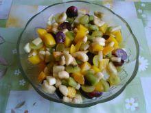 Egzotyczna sałatka owocowa