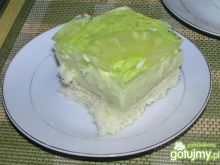Egzotyczne zielone ciasto