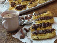 Eklerki polane czekoladą