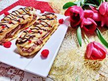 Eklery z czekoladowym ganache