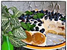 Ekspresowy deser borówkowy