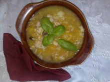 Eli zupa z dyni z ryżem