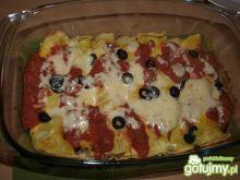 Enchiladas z mięsem wieprzowym