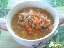 Expresowa zupa fasolowa z mielonym