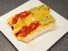 Fajitas z Guacamole i Salsą Pomidorową