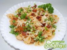 Farfale z sosem mięsno-dyniowym