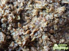 Farsz z pieczarek i suszonych grzybów