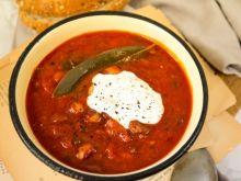 Fasolka po bretońsku w postaci zupy