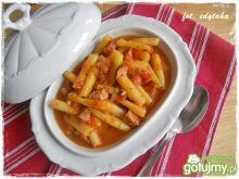 Fasolka szparagowa w pomidorowym sosie