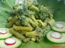 Fasolka szparagowa z brokułami