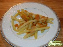 Fasolka szparagowa z bułeczką tartą