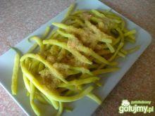 Fasolka szparagowa z bułka na masełku