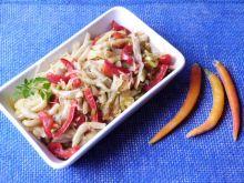 Fasolka szparagowa z dynią makaronową