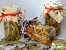 Fasolka szparagowa z marchewką na zimę