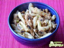 Fasolka szparagowa z pieczarkami 4