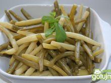 Fasolka szparagowa z pieprzem cytrynowym