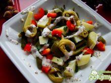 Fasolka szparagowa z ziemniakami i sosem