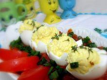 Faszerowane jajeczka w sosie słodko-kwaś