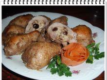 Faszerowane pałki kurczaka Eli z żurawiną