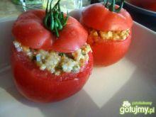 Faszerowane pomidory mięsem wg Mychy