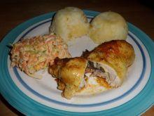 Faszerowane udka z kurczaka