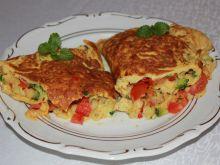 Faszerowany omlet