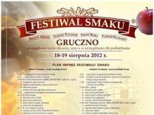 Festiwal Smaku w Grucznie 2012