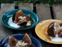 Figi pieczone z nalewką