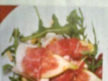 Figi z  serem kozim w szynce parmeńskiej