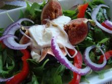 Figi z serem mozzarella