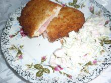 Filecik z szynką i serem